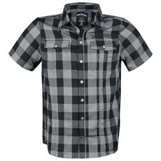 Jack Daniel's - Black / Grey (Camicia Manica Corta Unisex Tg. XL)
