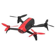 Bepop 2 Drone Cam Full HD 14Mpx colore Rosso con Stabilizzazione Digitale