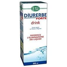 Diurerbe forte drink 500ml limone drenante liquidi eccesso magnesio potassio