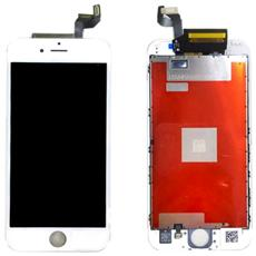 Display Schermo Lcd Retina Touch Screen Frame Ricambio Apple Iphone 6s Bianco 4,7