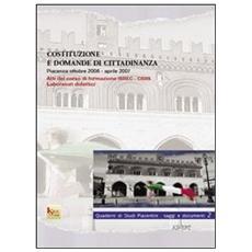 Costituzione E Domanda Di Cittadinanza.