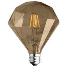 Lampada Diamante Edison Vintage E27 4w Wire-led Luce 2700k Decorativa
