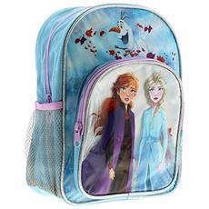 Disney Frozen Abbey Arch Zaino Borse & Accessori Materiale Sintetico Scuola Borse Blu, Blu (blu), Taglia Unica