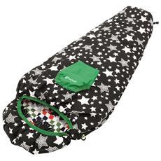740024 Bambini Mummy sleeping bag Microfibra, Poliestere Multicolore sacco a pelo