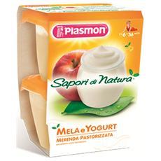 Merenda Sapori Di Natura Yogurt Mela 120 Gr X 2