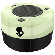 Speaker Audio Portatile Soudmine Bluetooth colore Nero / Verde Glow in The Dark
