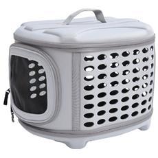 Trasportino borsa da trasporto per cani gatti cuccioli pieghevole