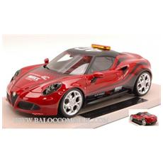 Top11 Alfa Romeo 4c Safety Car 2014 World Touring Car Championship Wtcc 1:18 Modellino