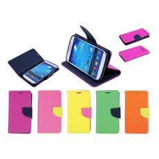 Custodia Cover Pieghevole Per Galaxy S4 Fluo Colori Assortiti