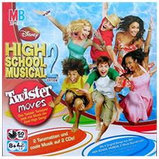 Hasbro Mb Giochi Disney's High School Musical 2 Twister Moves Art 40475