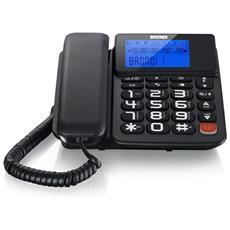 Cordless e Telefono Bravo Style Combo con Filo colore Nero RICONDIZIONATO