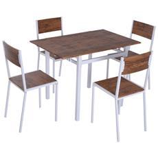 Sedie E Tavoli Plastica Economici.Set Tavoli Da Giardino Con Sedie Prezzi E Offerte Eprice