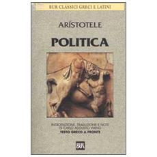 Politica. Testo greco a fronte