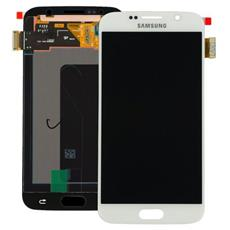 Display schermo LCD touch per Galaxy S6 SM-G920F Bianco service pack