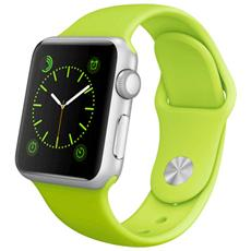 Cinturino WristBand in silicone per Apple Watch da 38mm - Verde