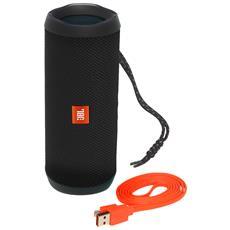 Speaker Wireless Portatile Flip 4 Bluetooth Colore Nero