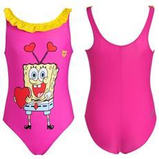 Costume Intero Spongebob Love Bambina Rosa 2a / 3a