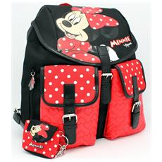 Zaino City Nero / rosso Mickey & Minnie Fashion