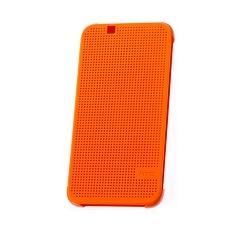 Dot view flip cover orange orig htc desire 510