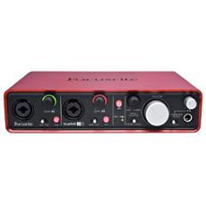 Scarlett 2I4 Scheda Audio Interfaccia Usb 2 in 4 Out 24Bit 96Khz