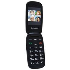 "Facile Duo Rosso Dual Sim 3G Display 2.4"" Bluetooth Fotocamera 2Mpx RadioFM Tasto SOS"