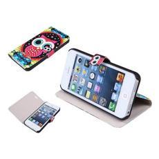 Custodia Cover Pieghevole Iphone 5/5s Gufo Itotal