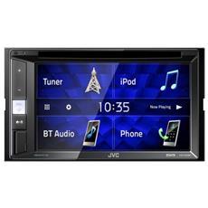 """Lettore Multimediale FM per Auto Touchscreen 6.2"""" Bluetoth / USB / CD / DVD Colore Nero"""
