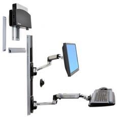 Sistema di Montaggio a Parete LX con Supporto per CPU e LCD