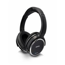 BoomBoom 560 Cuffia Bluetooth Over Ear pieghevole Headset (con microfono) - Nero