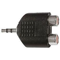 (4/47800) Adattatore Da Spina Jack 3,5 Stereo A 2 Prese Rca