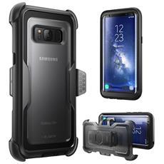 Cover Per Samsung Galaxy S8 Plus (2017) - Protezione Slim Armorbox [ heavy Duty] . Custodia Rigida Protettiva Super Resistente Agli Impatti (Nero)