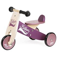 J03260 Bikloon - Triciclo piccolo rosa e viola (CO)