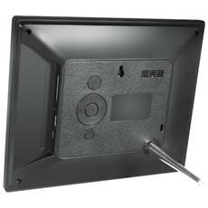 """Cornice Digitale 1081 Display 10.1"""" Formato 16:9 Lettore SD / SDHC / MMC Memoria Colore Nero"""