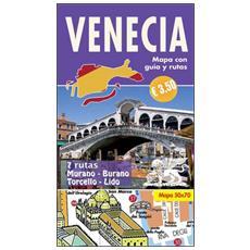 Venecia. Mini guia con mapa y rutas