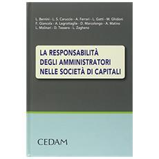 La responsabilità degli amministratori nelle società di capitali