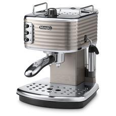 ECZ351BG Scultura Macchina Caffè Espresso Manuale Serbatoio 1.4 Litri Potenza 1100 Watt