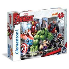 Puzzle Maxi 104 Pz - Avengers - Pronti Alla Battaglia