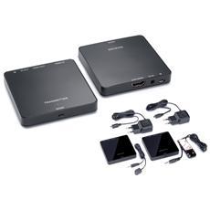 Kit Wireless HDMI Full HD Colore Nero