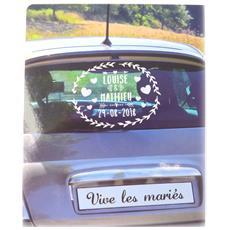 adesivi auto decorazione board 'mariage' - [ p1360]