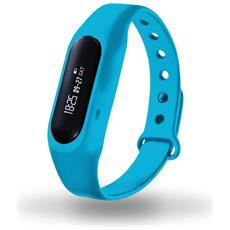 Braccialetto Fitness Blu Contapassi Calorie Sleep Monitor Pdm1106 Azzurro