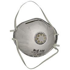 Mascherina Di Protezione Tipo Industriale, con Filtro In Carbone Attivo E Valvola Di Espirazione