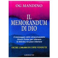Il memorandum di Dio