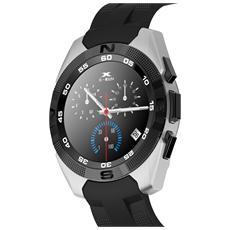 Nuovo Smartwatch Bluetooth Con Funzione Cardiofrequenzimetro Contapassi Colore Grigio