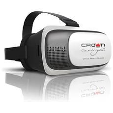 Occhiali Realtà Virtuale, Visori 3d 360° Per Smartphone Android, Apple