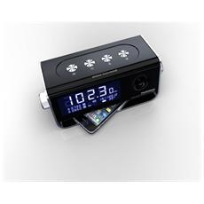 CT350, Orologio, Digitale, FM, VHF, LCD, AAA, 220V