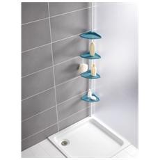 21555100, Acrilonitrile butadiene stirene (ABS) , Alluminio, Blu, Bianco, Bagno