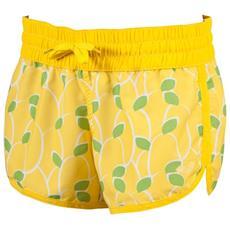 Pantaloncino Donna Lemons Short Giallo Fantasia S
