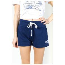 Shorts Ny Donna Fiammato Blu L