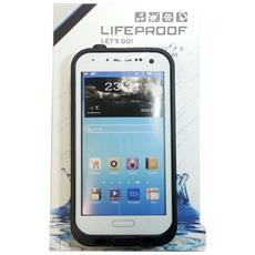 Custodia Subacquea Waterproof Bianca Samsung Galaxy S4 I9500 I9505