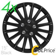 Copricerchi Auto Universali 15 Pollici C-071 Black 31190